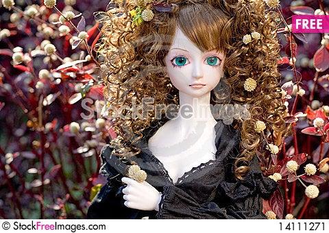 Free BJD Doll Sweet Angel Stock Image - 14111271