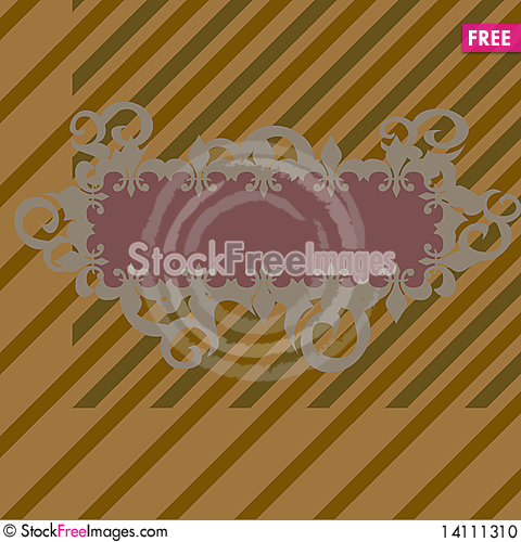 Free Vintage Background And Frame Stock Photo - 14111310
