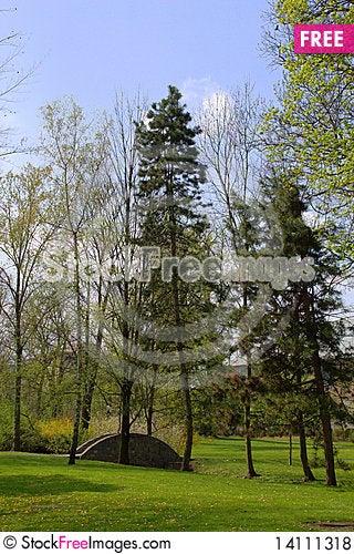 Free Park In Cakovice Royalty Free Stock Photos - 14111318
