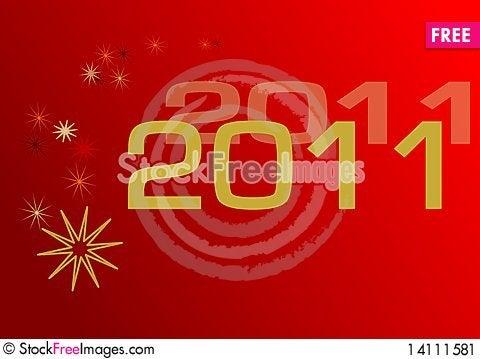 Free 2011 Background Stock Image - 14111581