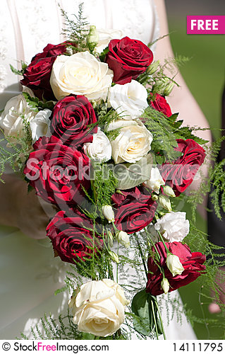 Free Bridal Bouquet Royalty Free Stock Photo - 14111795
