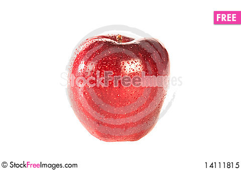 Free Red Apple Royalty Free Stock Photo - 14111815
