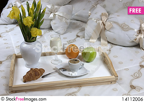 Free Breakfast  In A Hotel Royalty Free Stock Image - 14112006