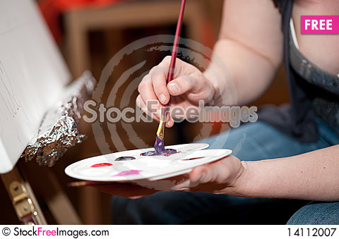 Free Painting Royalty Free Stock Photography - 14112007