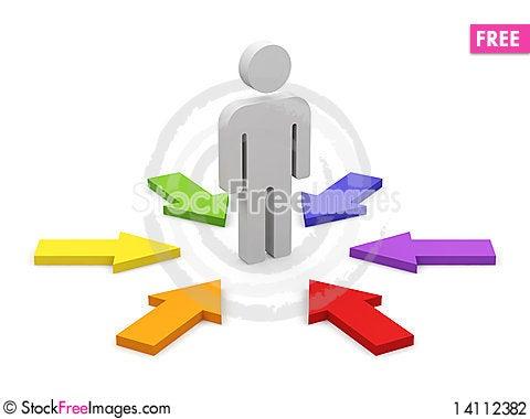 Free Choice. Stock Photography - 14112382