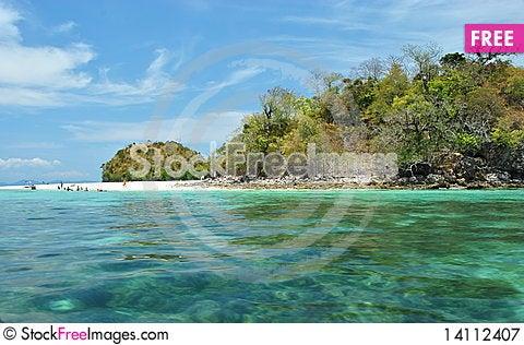 Free Island Royalty Free Stock Photography - 14112407