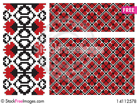 Free Texture Element Embroidery Element Royalty Free Stock Photos - 14112578