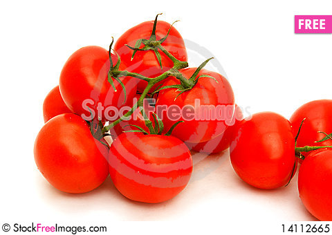 Free Tomatoes Group Royalty Free Stock Photo - 14112665