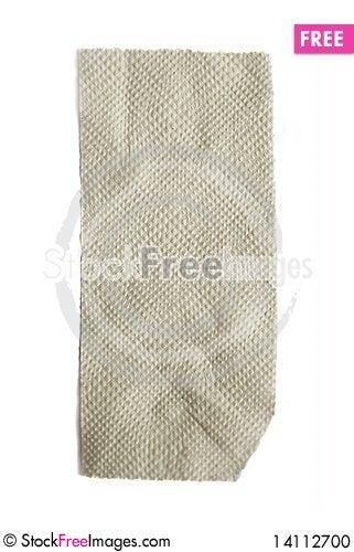 Free Toilet Paper On White Background Stock Photo - 14112700