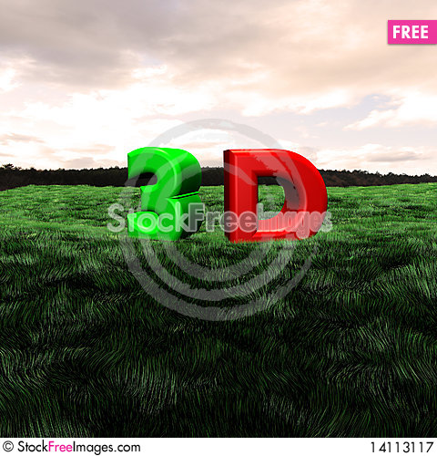 Free 3d Scape Royalty Free Stock Photography - 14113117
