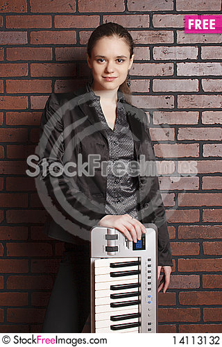 Free Portrait Of Musician Stock Photography - 14113132