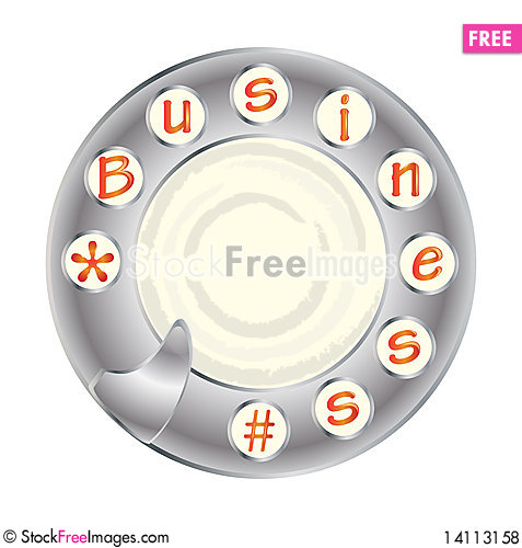 Free Telephone Disk And Business Royalty Free Stock Photos - 14113158