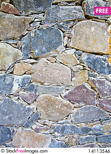 Free Old Stone Wall Royalty Free Stock Image - 14113546
