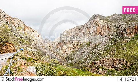 Free Kourtalioti Canyon Stock Image - 14113751