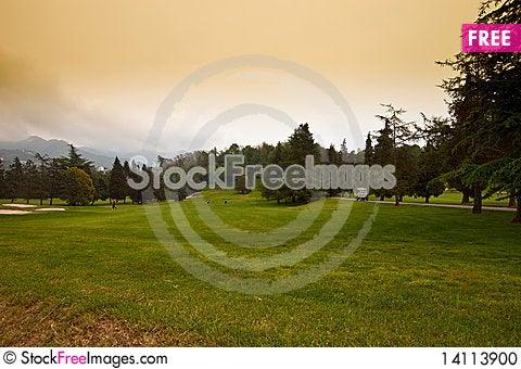 Free Golf Court Stock Photo - 14113900