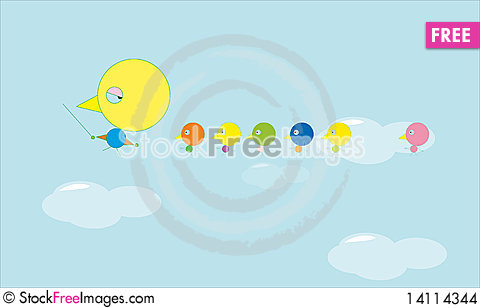 Free Flying Bird Stock Images - 14114344
