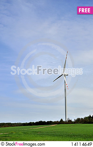 Free Wind Turbine Royalty Free Stock Images - 14114649