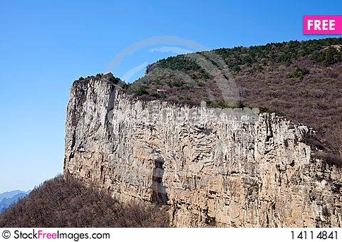 Free Cliff Landscape Stock Image - 14114841