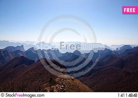 Free Mountains Royalty Free Stock Photos - 14114848