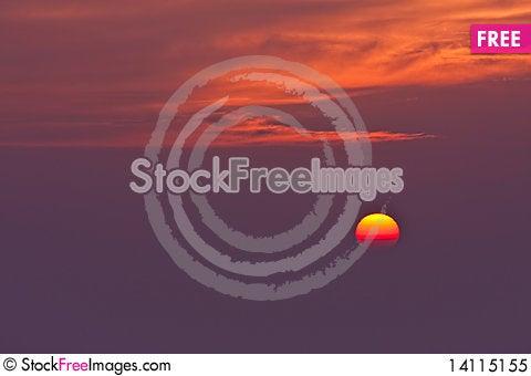 Free Sunrise Royalty Free Stock Photo - 14115155