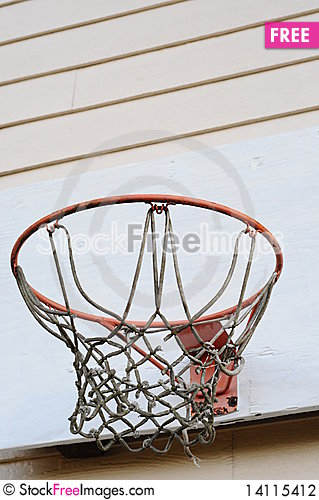 Free Basketball Hoop Stock Photography - 14115412