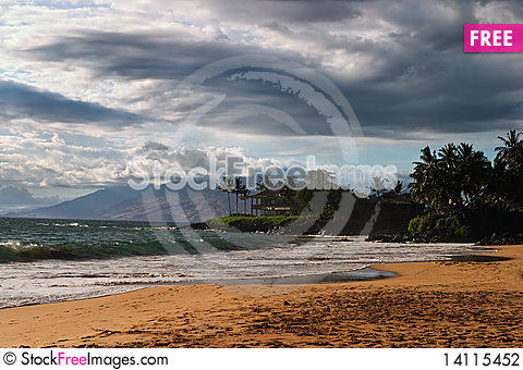 Free Storm Is Coming Stock Photography - 14115452