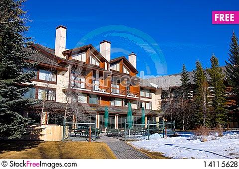 Free Mountain Resort Royalty Free Stock Photos - 14115628
