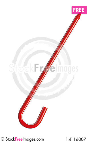Free Unusual Red Pink Pen As Candy Royalty Free Stock Photography - 14116007