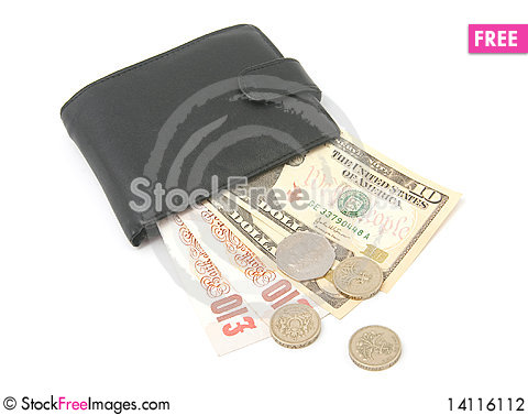 Free Money In Wallet Stock Photography - 14116112