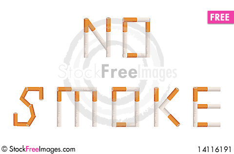 Free No Smoke Stock Image - 14116191