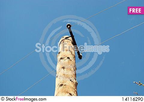 Free Electric Column Stock Photo - 14116290