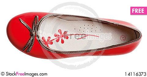 Free Red Fashion Glamour Shoe Stock Photos - 14116373