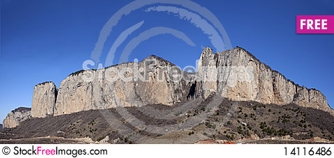 Free Huge Rocky Mountain Royalty Free Stock Image - 14116486