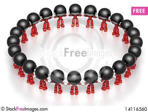 Free ID Group Circle Stock Photo - 14116560