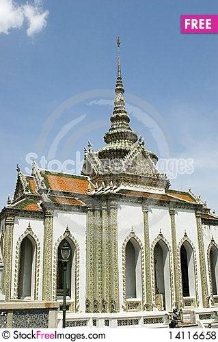 Free Emerald Buddha Temple In Bangkok Royalty Free Stock Photos - 14116658