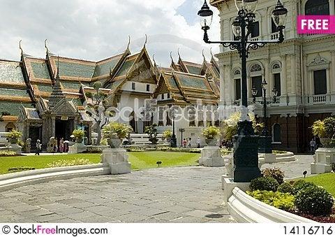 Free Grand Palace - Bangkok, Thailand Royalty Free Stock Image - 14116716