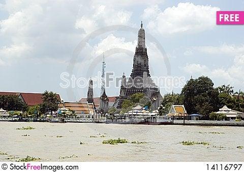 Free Thailand, Bangkok Cityscape Royalty Free Stock Photography - 14116797