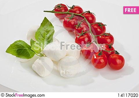Free Mozzarella Stock Photo - 14117020