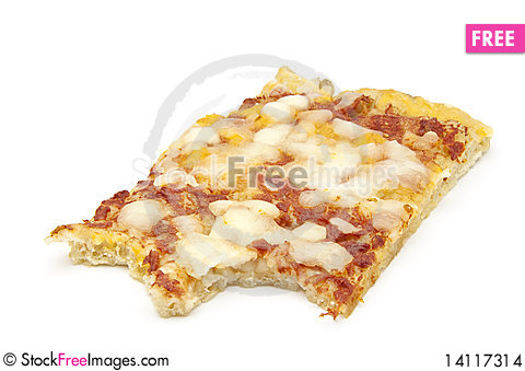Free Eaten Pizza Stock Images - 14117314