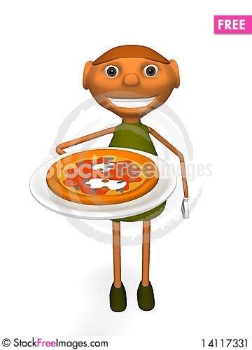 Free Pizza Stock Image - 14117331