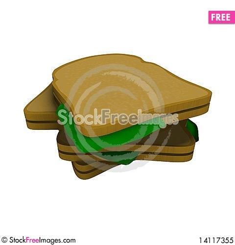 Free Toast Royalty Free Stock Photo - 14117355