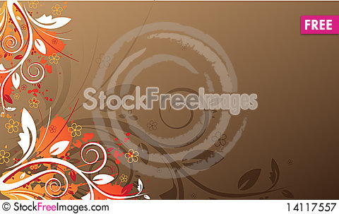Free Floral Background Royalty Free Stock Photography - 14117557