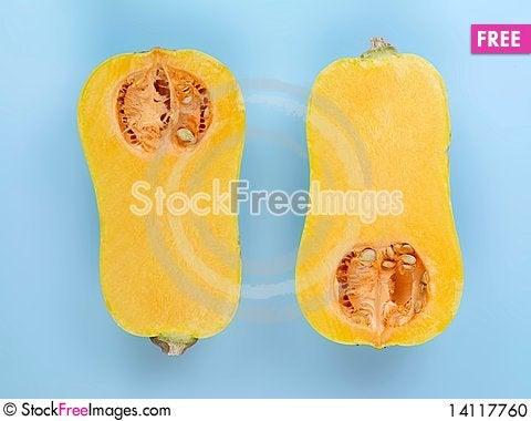 Free Butternut Pumpkin Stock Photo - 14117760