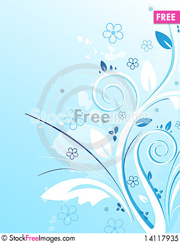 Free Floral Background Royalty Free Stock Photo - 14117935