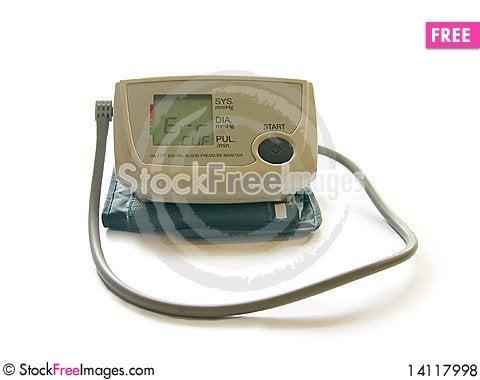 Free Authomatic Tonometer Royalty Free Stock Photos - 14117998