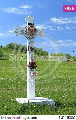 Free Cross In The Sky Stock Photo - 14118000