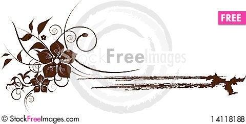 Free Flowers Decoration Royalty Free Stock Photos - 14118188