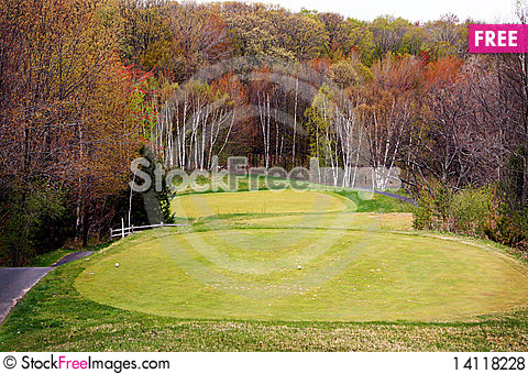Free Golf Course Royalty Free Stock Photos - 14118228