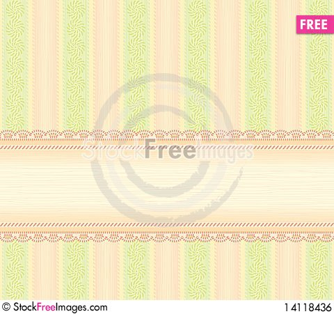 Free Background With A Frame Royalty Free Stock Image - 14118436