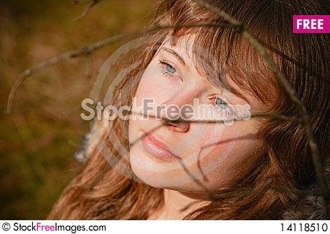 Free Dreaming Girl Stock Photo - 14118510